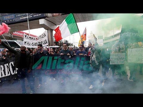 Alitalia: Ακυρώσεις πτήσεων λόγω 24ωρης απεργίας