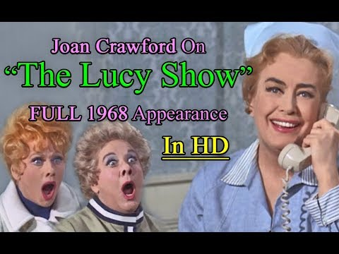 Joan Crawford On The Lucy Show (1968) FULL Episode [HD]