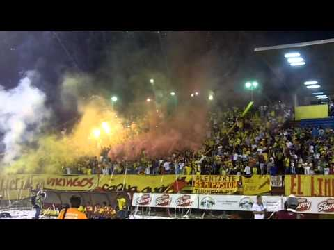 Salida de Aragua FC y Caracas FC - Los Vikingos - Aragua