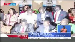 KTN Prime: Kenyan Public School Teachers Set To Get Pay Increments, 25th October 2016