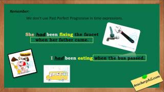 Past Perfect Progressive Tense