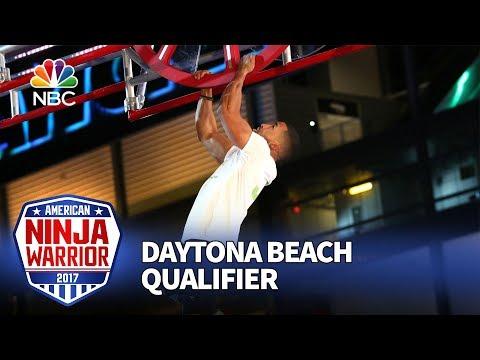 JJ Woods at the Daytona Beach Qualifiers - American Ninja Warrior 2017