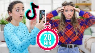 20 TikToks in 20 Minutes for 20 Year Old Twins in 2020 by Brooklyn and Bailey