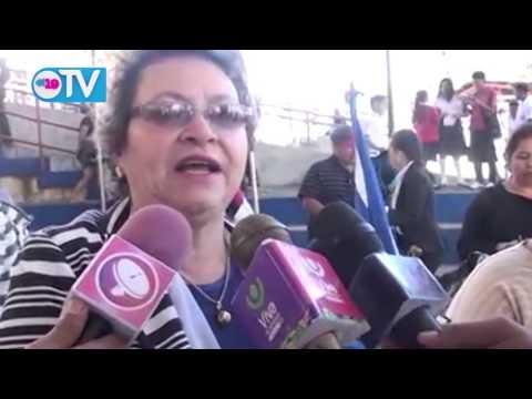Estudiantes de Matagalpa celebran inicio de año escolar 2016