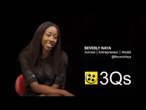 Beverly Naya: Actress | Entrepreneur | Model | #3Qs