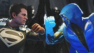 Injustice 2 Sub zero vs Superman All intros, clash quotes and supermoves from Injustice 2  Injustice 2 Playlist https://www.youtube.com/playlist?list=PLIHdjqWw8amLejxTrprTd5om6niDsWg4LSUBSCRIBE for daily Injustice 2 content!https://www.youtube.com/user/MaximumGuarded2