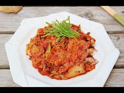 Chuẩn điệu Vị và Hương với món thịt xào kim chi cho bữa cơm ngày thu