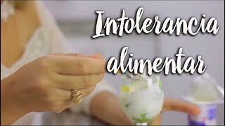 Intolerância alimentar