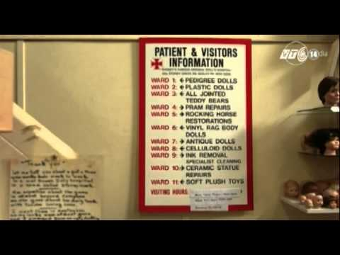 Bệnh viện hơn 100 năm 'chữa bệnh' cho búp bê