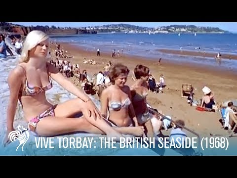 Vive Torbay: Travelling to the British Seaside (1968) | British Pathé
