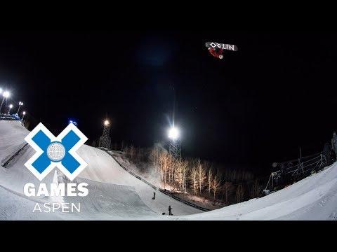 Men's Snowboard Big Air: FULL BROADCAST | X Games Aspen 2018 (видео)