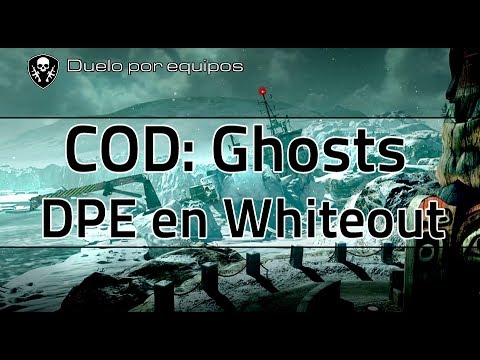 Gameplay de COD Ghost DPE, mapa Whiteout