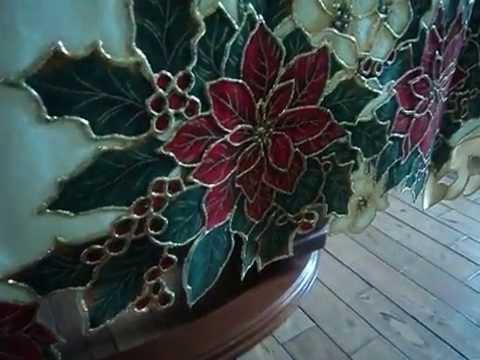 Manteles bordados de navidad videos videos relacionados con manteles bordados de navidad - Manteles navidenos ...