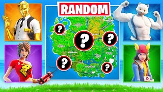 RANDOM Boss SKIN CHALLENGE in Fortnite ARENA