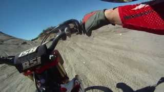 2. CRF250R Ramp hit and then bike dies