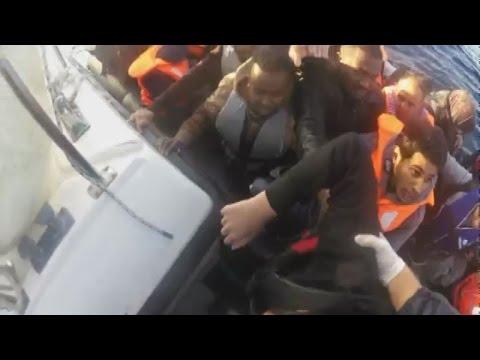 Επιχειρήση διάσωσης μιας γυναίκας Α.Μ.Ε.Α. στη Λέσβο