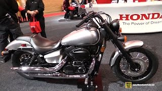 8. 2016 Honda Shadow Phantom 750 - Walkaround - 2016 Toronto Motorcycle Show