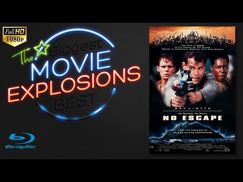 The best Movie Explosions: No Escape (1994) [HD] Camp Explosion