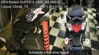 10. 2018 Kymco SUPER 8 150X  for sale in Corpus Christi, TX 7841
