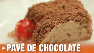 Pav� de Chocolate
