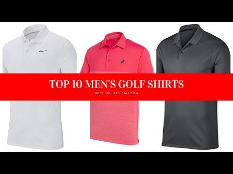 ✔️ TOP 10 BEST MEN'S GOLF SHIRTS