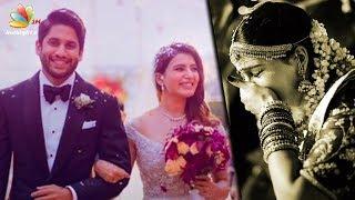 Video Samantha CRIES after Naga Chaitanya Ties the Knot   Marriage Video and Pics MP3, 3GP, MP4, WEBM, AVI, FLV November 2017
