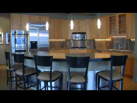 Two video tours of a West Loop loft