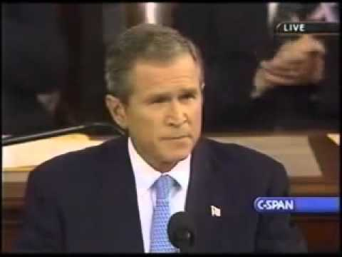 President Bush Addresses Congress and the Nation After 911