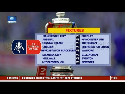 Emirates FA Cup Fixtures As Salah Retains CAF Award Title Pt.1 |Sports Tonight|