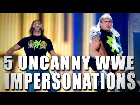 Greatest - Superstar impersonations are a big part of WWE. This week 5 Things look at some of the best impersonators in ring history. Who's your favorite? More ACTION on WWE NETWORK : http://bit.ly/1u4pM74 ...