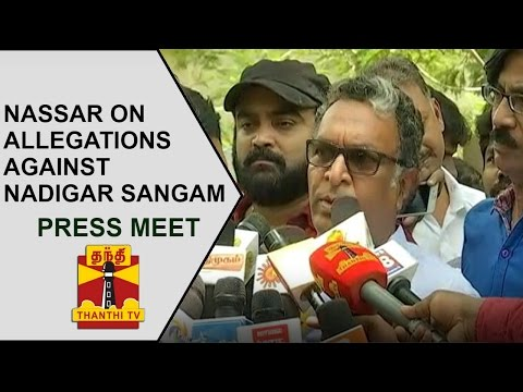 Actor-Nassar-addresses-Media-on-allegations-against-Nadigar-Sangam-Thanthi-TV