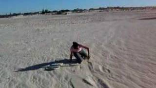 Lancelin Australia  city photo : Sandboarding in Lancelin Western Australia