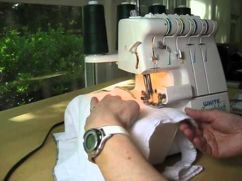 White Speedylock Model 1800 Overlock Serger
