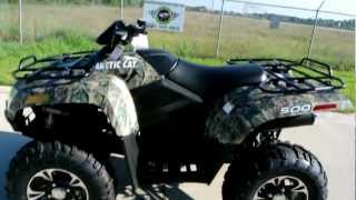 3. 2013 Arctic Cat 500 XT Camo 4X4: Overview and Review