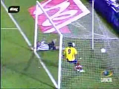 Gol de Dayro Moreno, Colombia vs Argentina