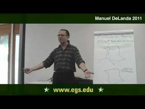 Manuel DeLanda. Intensive und topologisches Denken. 2011