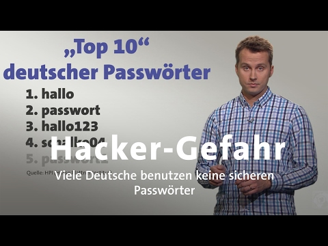 Hacker wollen Passwort knacken - Wie schütze ich mich?
