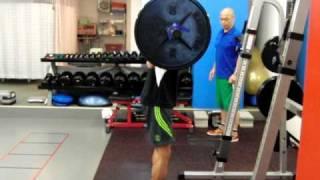 【競技で使える体を作る】ウエイトトレーニング+ジャンプ【瞬発力向上に!】