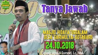 Video Tanya Jawab Tabligh Akbar Karawang (Masjid Hidayatussalam, 24.10.2018) - Ustadz Abdul Somad, Lc. MA MP3, 3GP, MP4, WEBM, AVI, FLV November 2018
