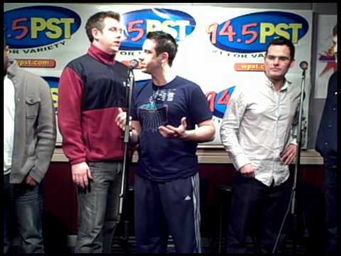 Straight No Chaser performs the 12 Days of Christmas in the PST Live Lounge