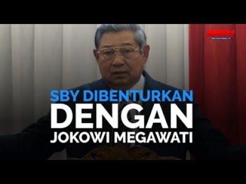 SBY Dibenturkan Dengan Jokowi Megawati