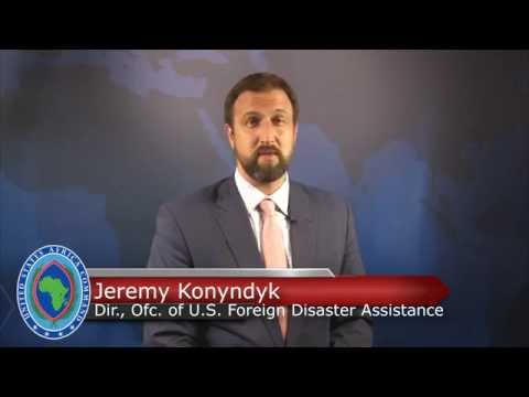 Jeremy Konyndyk, director of the Office of U.S. Foreign Disaster Assistance, USAID, talks about the interagency and international response to the Ebola outbreak in West Africa.