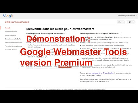 Google Webmaster Tools Premium