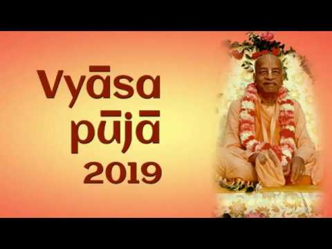 Vyasa Puja Celebrations 2019