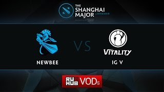 iG.V vs NewBee, game 1