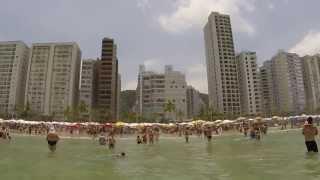 Guaruja Brazil  City pictures : Praia Pitangueiras Beach - Guaruja Brazil