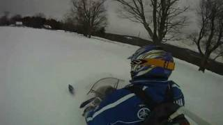 10. go pro on a special home made mount! yamaha phazer