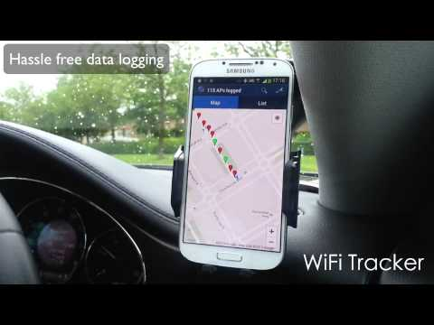 Video of WiFi Tracker