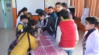 بدء فعاليات المخيم الشتوي في المركز الثقافي لتنمية الطفل