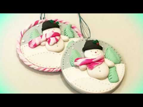 Polymer Clay Christmas Ornament Series #101 - The Craft Shop DT Project
